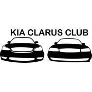 Наклейка Kia clarus club, фото 1
