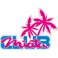 Наклейка Miata Club, фото 1