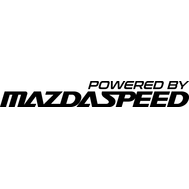 Наклейка Powered by Mazdaspeed, фото 1