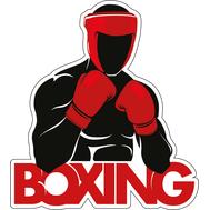 Наклейка Бокс, фото 1