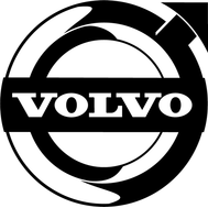 Наклейка Volvo, фото 1