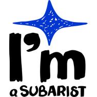 Наклейка I'm a Subarist, фото 1