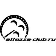 Наклейка Altezza club, фото 1