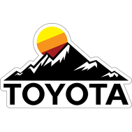 Наклейка Toyota of San Bernardino, фото 1