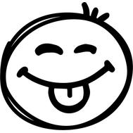 Наклейка Смайл, фото 1