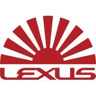 Наклейка Lexus sun, фото 1