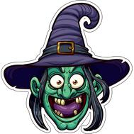 Наклейка Ведьма, фото 1