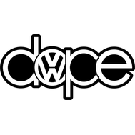Наклейка Dope VW, фото 1