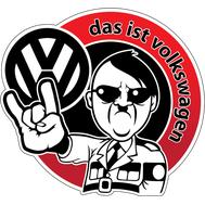 Наклейка Das ist Volkswagen, фото 1