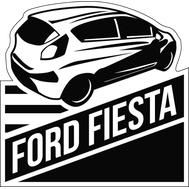Наклейка Ford Fiesta, фото 1
