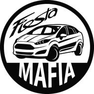 Наклейка Fiesta mafia, фото 1