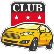 Наклейка Fiesta club, фото 1