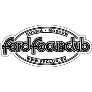 Наклейка Ford Focus Club, фото 1