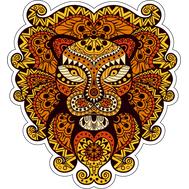 Наклейка Лев, фото 1