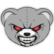 Наклейка Angry Koala, фото 1