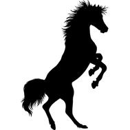Наклейка Конь, фото 1
