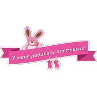 Наклейка У меня родилась племяшка!, фото 1