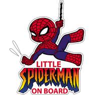 Наклейка Little Spiderman on board, фото 1