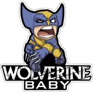 Наклейка Wolverine baby, фото 1