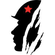 Наклейка Солдат, фото 1