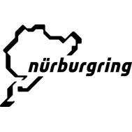 Наклейка Nurburgring, фото 1