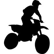 Наклейка Biker, фото 1