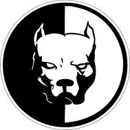 Наклейка SmotraBull с белым фоном, фото 1