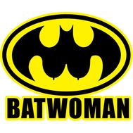 Наклейка Batwoman, фото 1