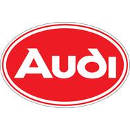 Наклейка Audi Red Logo, фото 1
