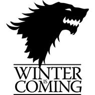 Наклейка  Winter is coming, фото 1