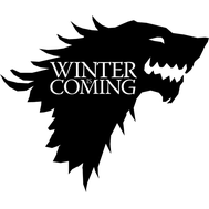 Наклейка Winter is coming, фото 1