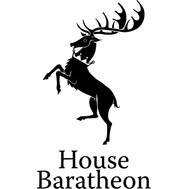 Наклейка House Baratheon, фото 1