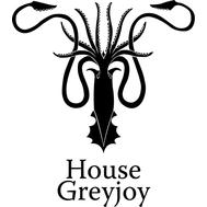 Наклейка House Greyjoy, фото 1