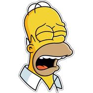 Наклейка Гомер Симпсон плачет, фото 1