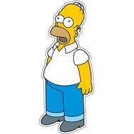 Наклейка Удивленный Гомер Симпсон, фото 1