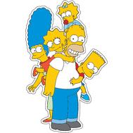 Наклейка Семья Симпсон, фото 1