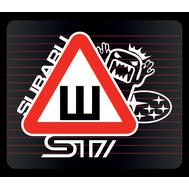 Наклейка Шипы Subaru STI, фото 1