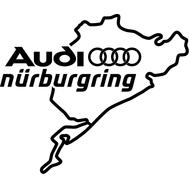 Наклейка Audi Nurburgring, фото 1