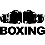 Наклейка Боксерские перчатки, фото 1