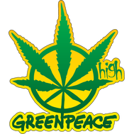 Наклейка Greenpeace High, фото 1