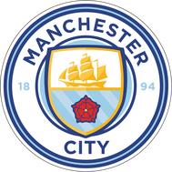 Наклейка Manchester City FC, фото 1