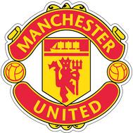 Наклейка Manchester United FC, фото 1