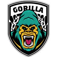 Наклейка Горилла зеленая, фото 1