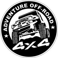 Наклейка Adventure Off-Road, фото 1
