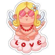 Наклейка Love, фото 1