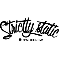Наклейка Strictly Static, фото 1