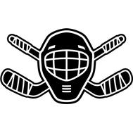 Наклейка Hockey, фото 1