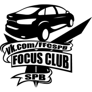 Наклейка Focus Club SPB, фото 1