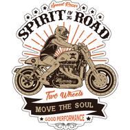 Наклейка Spirit of the road, фото 1