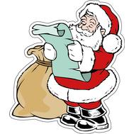 Дед Мороз и список подарков, фото 1